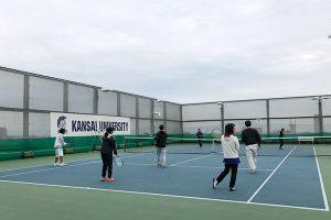 テニスカレッジ無料体験会4