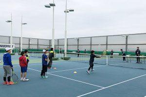 テニスカレッジ無料体験2