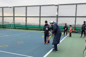 テニスカレッジ無料体験会3